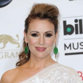 Alyssa Milano: 'Motherhood Is Exhausting'