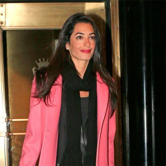 Amal Alamuddin celebrates bridal shower