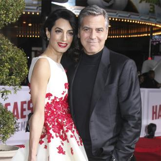 George Clooney becomes a dad