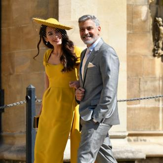 George Clooney welcomes the 'good news' of the royal wedding