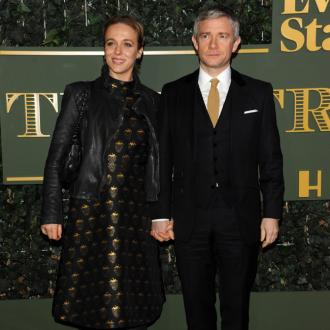 Martin Freeman and Amanda Abbington are supportive of each other