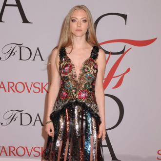 Amanda Seyfried has stuffed zebra