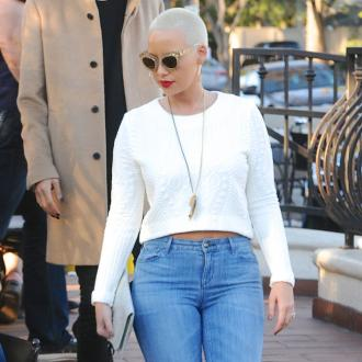 Amber Rose Works Out With Son