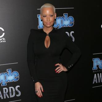 Amber Rose Eyes Up Chris Brown
