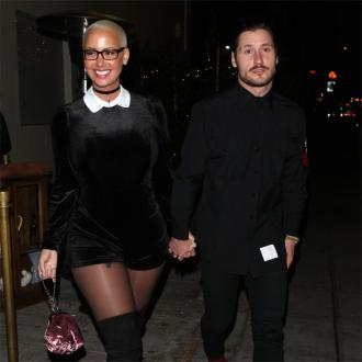Amber Rose and Val Chmerkovskiy are 'solid'