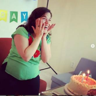 America Ferrera's virtual surprise party