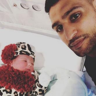 Amir Khan and Faryal Makhdoom welcome baby girl
