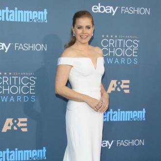 Amy Adams' daughter on 'cleavage patrol'