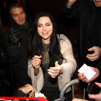 Amy Lee is pregnant