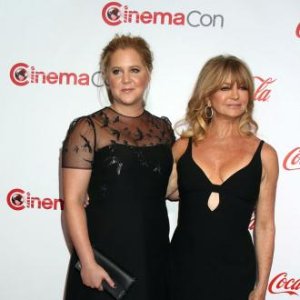 Amy Schumer stops Goldie Hawn being perfect