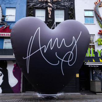 Back to Black at 15: Giant heart installation erected in Camden in celebration of Amy Winehouse LP