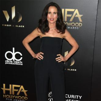 Andie MacDowell wasn't a strict mom