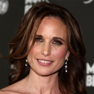 Andie MacDowell admits getting divorced is 'really hard'