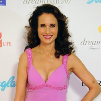 Andie MacDowell's unique wallet