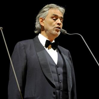 Andrea Bocelli to star in biopic