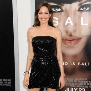 Angelina Jolie Finds Peace In Kids