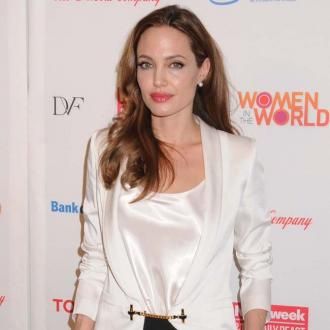 Angelina Jolie Honoured For Humanitarian Work