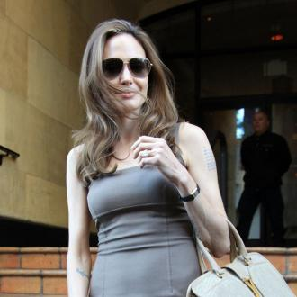 Angelina Jolie Helps Sick Staff Member
