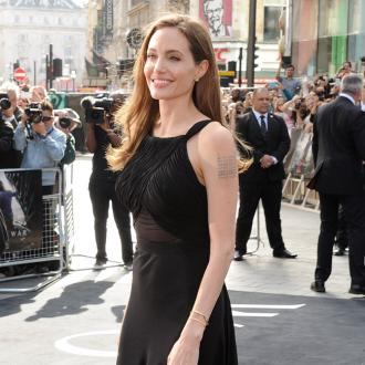 Angelina Jolie Had Play Time On Set