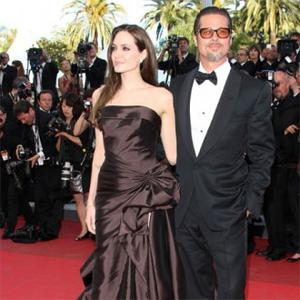 Angelina Jolie Feels 'Lucky' With Brad