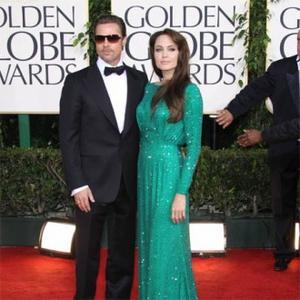 Angelina Jolie And Brad Pitt Visit President Obama