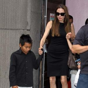 Angelina Jolie's Sons Have Fish Pedicures