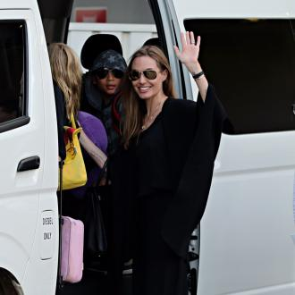 Angelina Jolie Gets New Tattoo