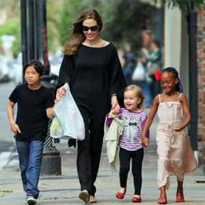 Angelina Jolie: Children Are Key To Happiness