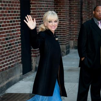 Anna Faris is happy her screen strips are over