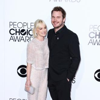 Chris Pratt And Anna Faris 'Were Very Competitive'