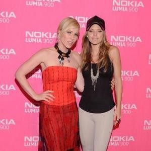 Annalynne Mccord And Natasha Bedingfield Bond At Celebrity Party