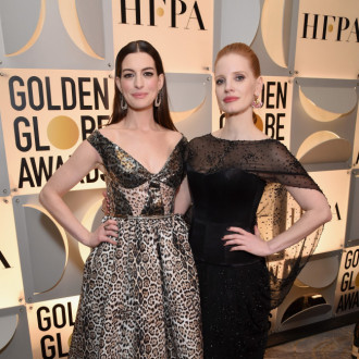 Anne Hathaway and Jessica Chastain reunite for Mothers' Instinct