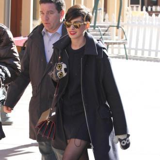 Anne Hathaway bumps into former stylist Rachel Zoe