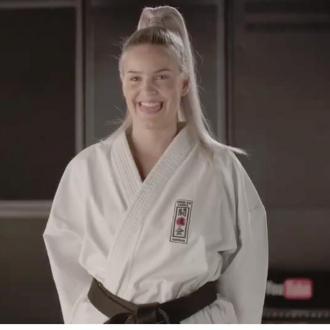 Anne-marie Is Teaching Karate