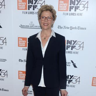 Annette Bening very proud of son