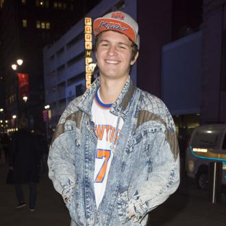 Ansel Elgort Reunites With Girlfriend