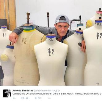 Antonio Banderas' Intense Week At Fashion School