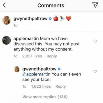 Gwyneth Paltrow Annoys Daughter