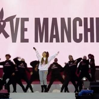 Ariana Grande gives moving speech to people of Manchester