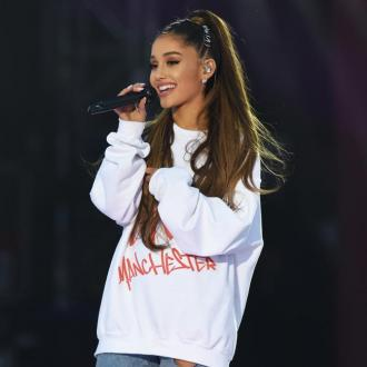 Ariana Grande is 'finishing' her new album right now