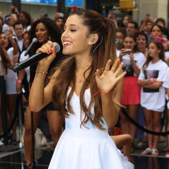 Ariana Grande Records With Chris Brown