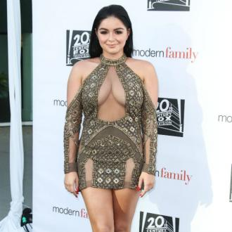 Ariel Winter's derriere eats her shorts