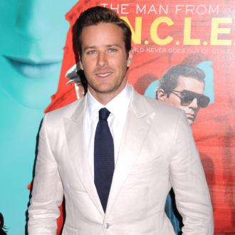 Armie Hammer almost missed son's birth
