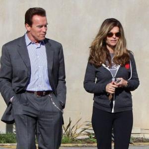 Arnold Schwarzenegger Coping With Split