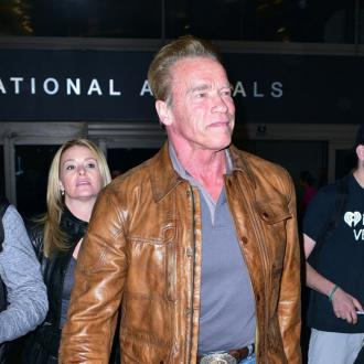 Arnold Schwarzenegger's 'knees are shot'