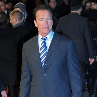 Arnold Schwarzenegger Parades New Romance