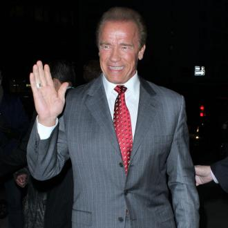 Arnold Schwarzenegger glad he's not 'over the hill'