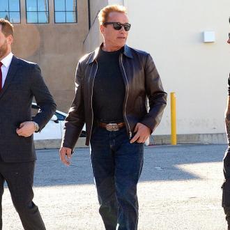 Arnold Schwarzenegger Bulks Up