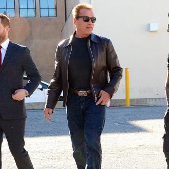 Arnold Schwarzenegger Likens Co-stars To 'A Basketball Team'