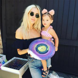 Ashlee Simpson hosts Andy Warhol-themed party for daughter's second birthday